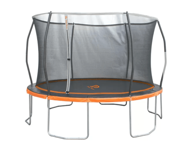 jump power trampoline mat has central target