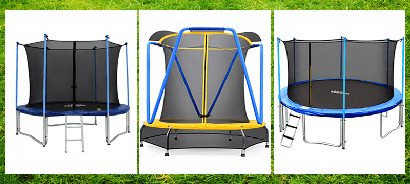 3 Zupapa Trampoline Models for kid